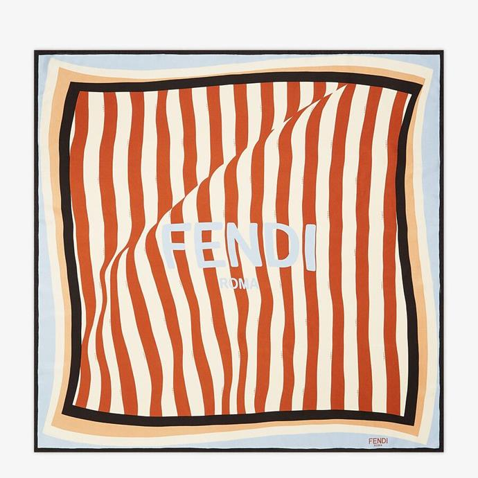 """We might not be able to travel there right now, but those French Riviera vibes will feel oh so real for Mum with this gorgeous Fendi penguin foulard. Made of silk twill with shades of beige and brandy *and* designed and made in Italy, this stunning gift is worth every penny. $690, **[buy it online here](https://www.fendi.com/au/pequin-foulard-brown-silk-foulard/p-fxt091aet5f1eke