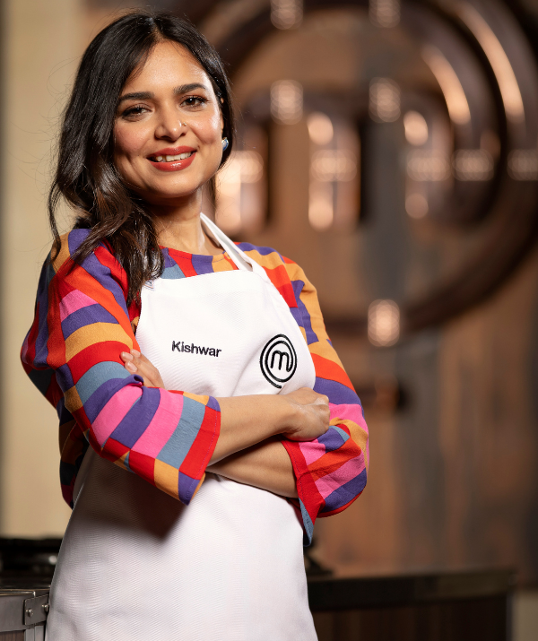 "Thirty-eight-year-old Kishwar says she is doing *MasterChef* for her mum who ""spent her entire life dedicated to making our home a beautiful place.."""