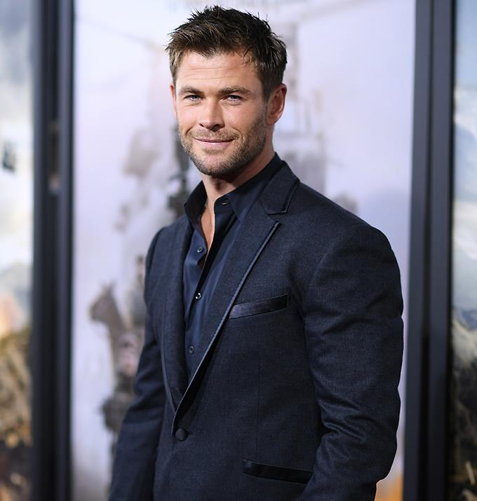 Chris Hemsworth is possibly in the running.