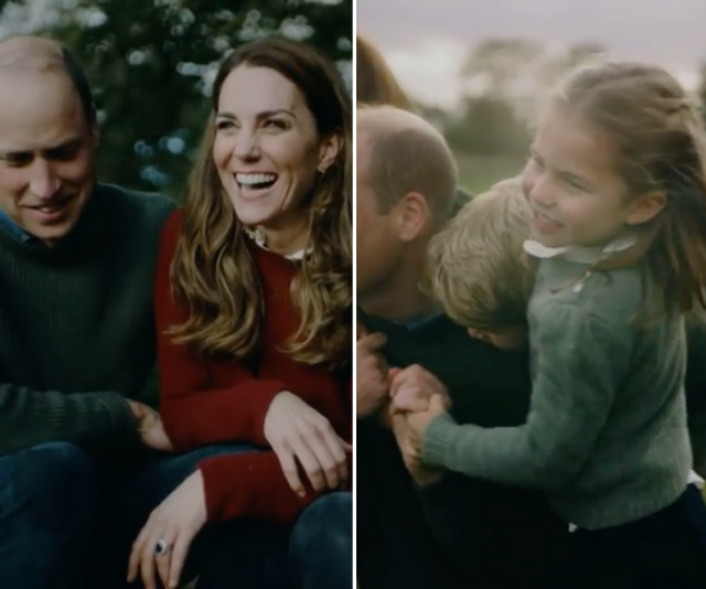 """We caught glimpses of both Kate and Wills in Charlotte during the [beautiful family video](https://www.nowtolove.com.au/royals/british-royal-family/prince-william-duchess-catherine-anniversary-video-67549