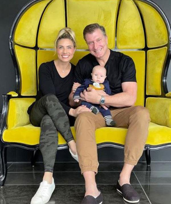"""""""It's been a really beautiful experience,"""" the 34-year-old dancer [told *WHO* of becoming a mother.](https://www.who.com.au/simon-pryce-lauren-hannaford-asher-baby-photos