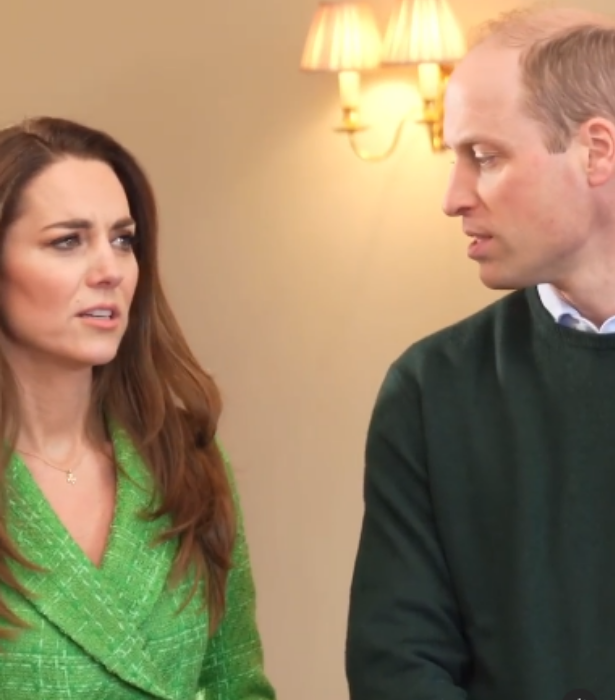Kate tells Will not to roll his 'R' so much.