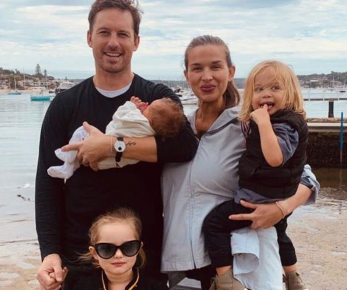 """""""Happy Mother's Day to the woman who makes us all better for just knowing her - the one we want to make proud everyday but who loves us regardless @tahynamacmanus the clan is strong,"""" [new father-of-three](https://www.nowtolove.com.au/parenting/pregnancy-birth/tristan-macmanus-baby-67611 target=""""_blank"""") and *Studio 10* host Tristan MacManus wrote in honour of his wife Tahyna."""