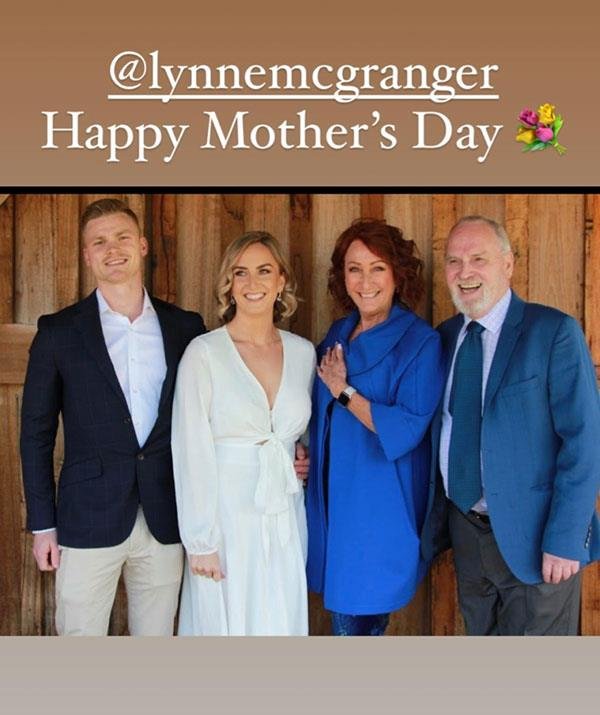 *Home And Away* star Lynne McGranger's daughter Clancy paid tribute to her mother with this touching post.