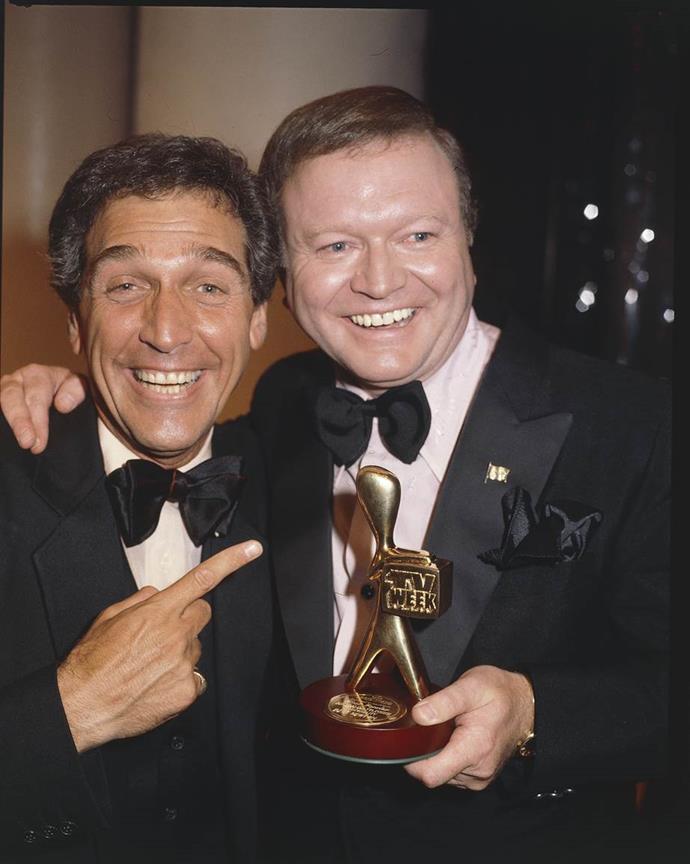 Bert is a quadruple Gold Logie recipient.