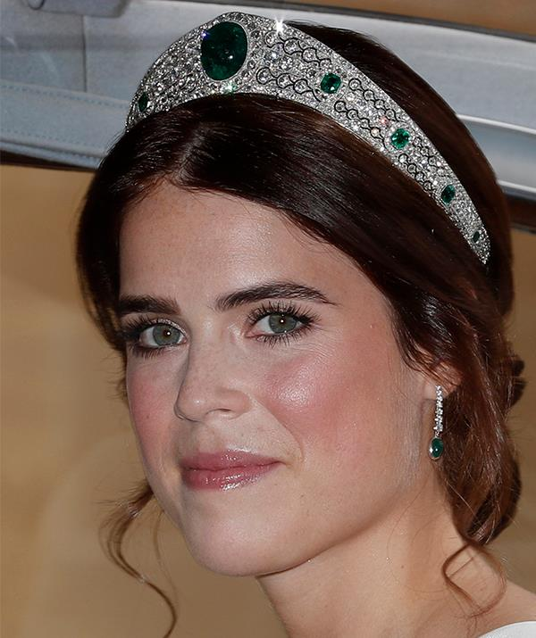 Princess Eugenie on her wedding day in 2018.