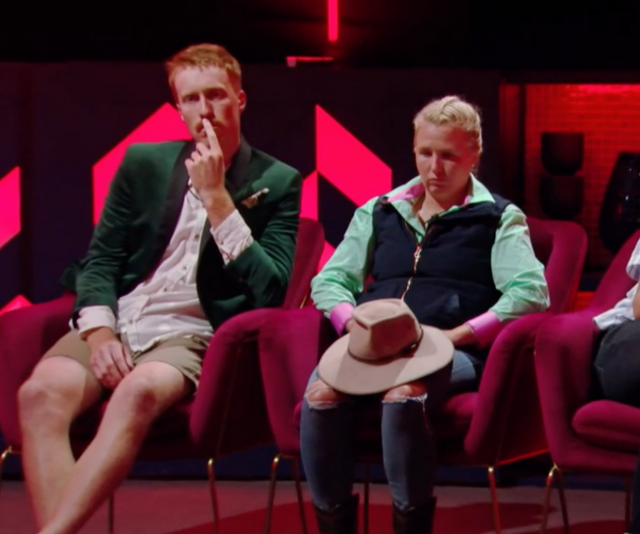 """**Nick**<br><br>  The first of his tight-knit alliance to fall, Nick felt betrayed when close-friend, Mel, voted against him to save herself. <br> <br>  Speaking to *Now To Love*, he [said of the shock moment](https://www.nowtolove.com.au/reality-tv/big-brother/big-brother-nick-mel-67640