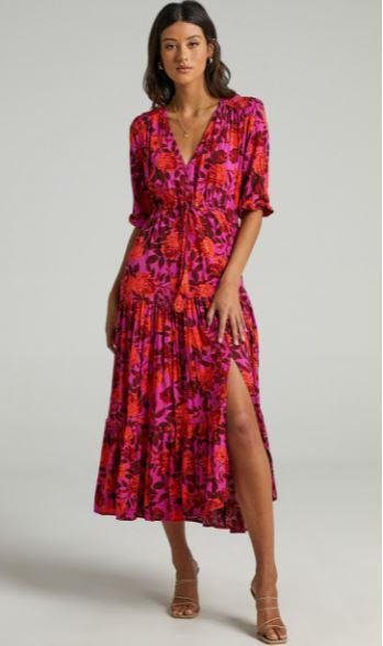 "Showpo waiting so long dress, $79.95. **[Buy it online here](https://www.showpo.com/waiting-so-long-dress-in-pink-floral.html target=""_blank"")**"