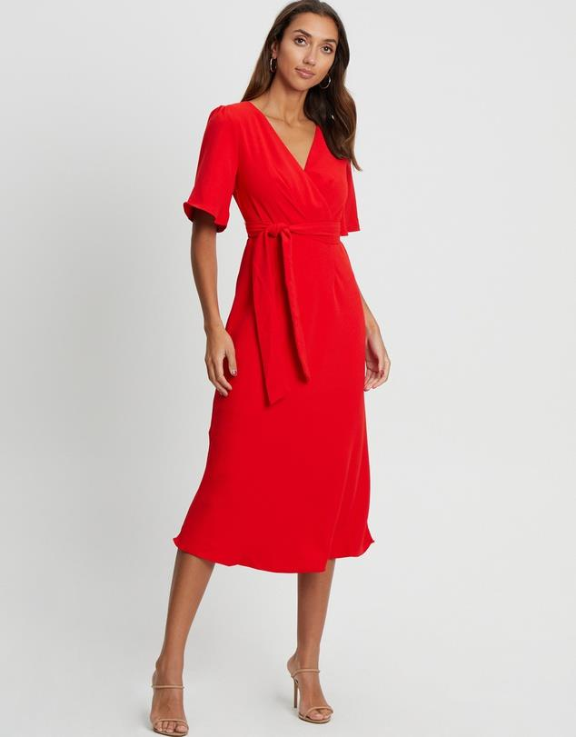 """Tussah Carin Dress, $139.95. **[Buy it online here](https://www.theiconic.com.au/carin-dress-1232977.html target=""""_blank"""" rel=""""nofollow"""")**"""