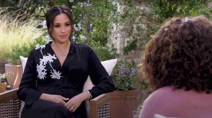 """Then came the interview of the year - Meghan [bared all to Oprah Winfrey](https://www.nowtolove.com.au/royals/british-royal-family/meghan-markle-prince-harry-oprah-interview-what-they-said-66994