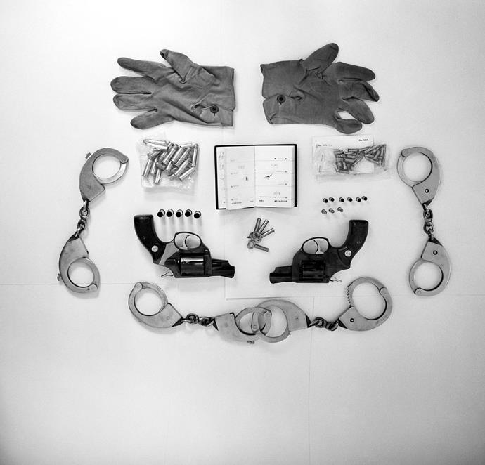 Police found handcuffs, tranquillisers and a ransom letter addressed to the Queen in Ball's car.