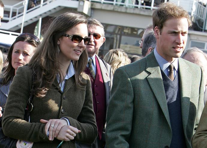 Kate and William wee clearly smitten from the start.