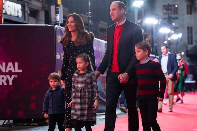 They now have three gorgeous children.