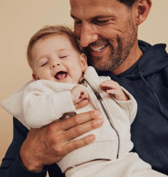 Tim posted pictures from this photoshoot to celebrate his daughter.