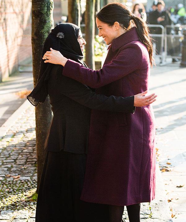 "Meghan Markle proudly describes herself as a ""hugger."""