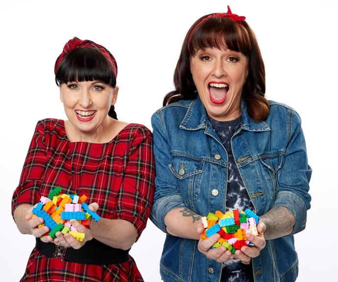 **Sarah and Fleur, VIC** <br><br> The Brick Pit sure won't be daunting to these LEGO-loving mums, with Sarah, 45, owning an estimated 50,000 LEGO pieces, while Fleur, 42, has around 110,000.