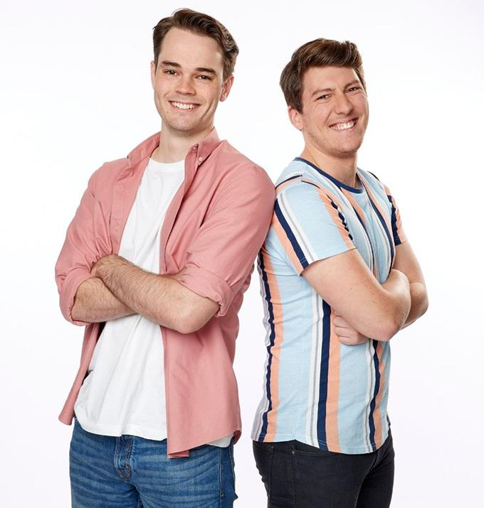 **Harrison and Michael, NSW/ACT** <br><br> Harrison, 26, and Michael, 25, quickly became friends in high school after they both discovered their shared love of LEGO. But do these pals have what it takes?