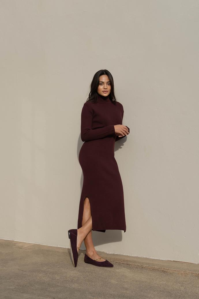 """[Knitted midi dress](https://www.myer.com.au/p/sed-heritage-knitted-midi-dress?utm_medium=advertorial&utm_source=Are-Media&utm_campaign=AW21-Seed&utm_content=Wk17-Seed-Native-Article-Links