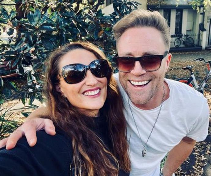 """Georgie Parker, who plays Roo Stewart on the show, and Ditch Davey, who plays Dr Christian Green, enjoyed a mate date lunch outing this week.  <br><br> """"Lunch with the good Doctor 👨🏼⚕️☕️,"""" Georgie captioned this sweet snap."""