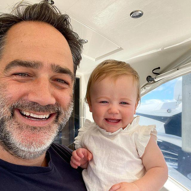 Michael and Francesca are the cutest father-daughter duo.