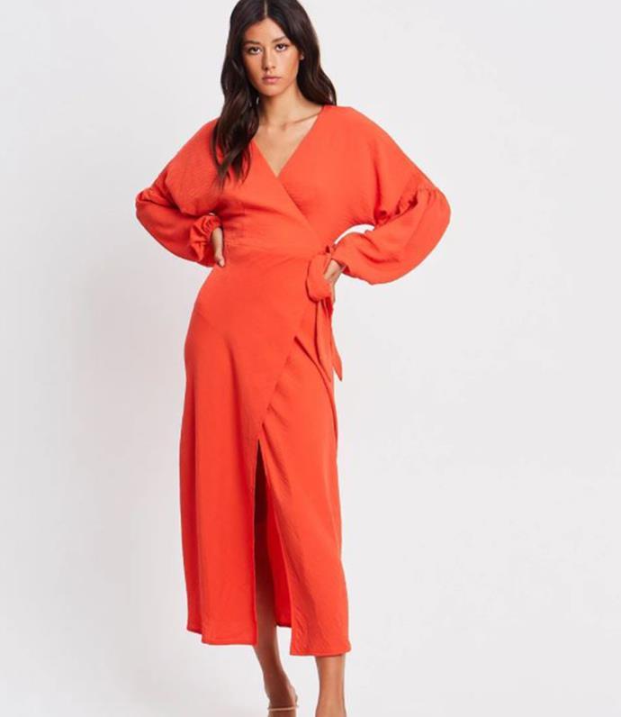 "The Iconic TUSSAH Nella Midi Dress, $129.95. [Buy it online here](https://www.theiconic.com.au/nella-midi-dress-1251399.html|target=""_blank"")"
