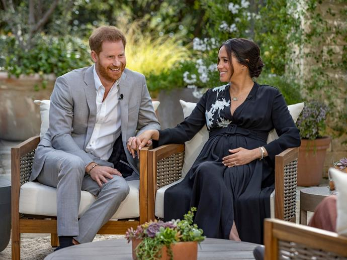 """**March 2021: The Oprah Interview** <br><br> In a televised royal event that will go down in history, the Duke and Duchess [shared an interview with Oprah Winfrey](https://www.nowtolove.com.au/royals/british-royal-family/meghan-markle-prince-harry-oprah-interview-what-they-said-66994