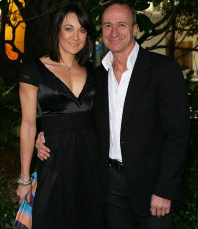 Michelle with her ex-husband at an event.