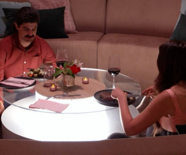 Mitch took Christina on a Big Brother date.