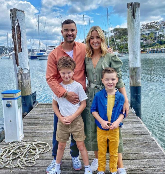 """As if this family couldn't be cuter, for Mother's Day last year Guy re-recorded a song to honour Jules. <br><br> Speaking to *[Now To Love](https://www.nowtolove.com.au/parenting/celebrity-families/jules-guy-sebastian-kids-67494 target=""""_blank"""")* Jules reminisced on the sweet gesture.  <br><br> """"Last year was his absolute crescendo of excellence. He recorded a song with the boys in the studio, it was so amazing. Like I just cried and cried,"""" said Jules."""