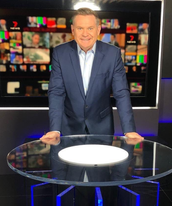 The number one pick now to replace Kochie is Michael Usher.