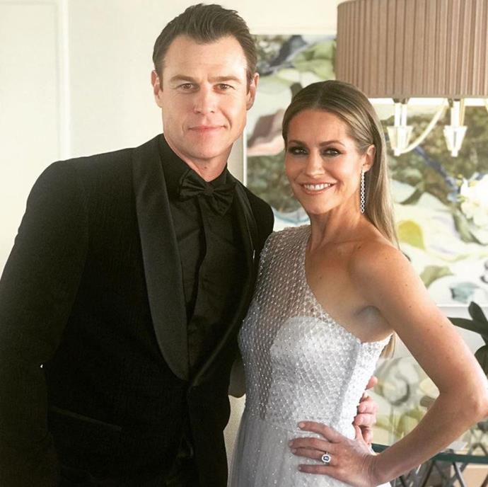 Rodger and Renee at the TV WEEK Logie Awards in 2019.