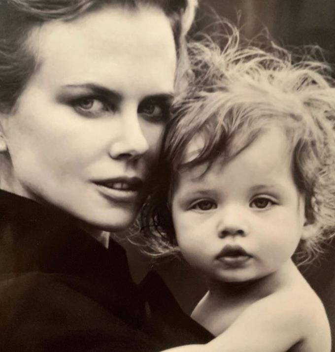**Nichole Kidman, 53** <br><br> Nicole was already a mother to her two adoptive children Isabella and Connor, who she raised with ex-husband Tom Cruise when she gave birth to her first biological child at 41. In 2008, Nicole and her husband Keith Urban welcomed their first daughter, Sunday Rose, and in 2010, their second daughter Faith Margaret was born.
