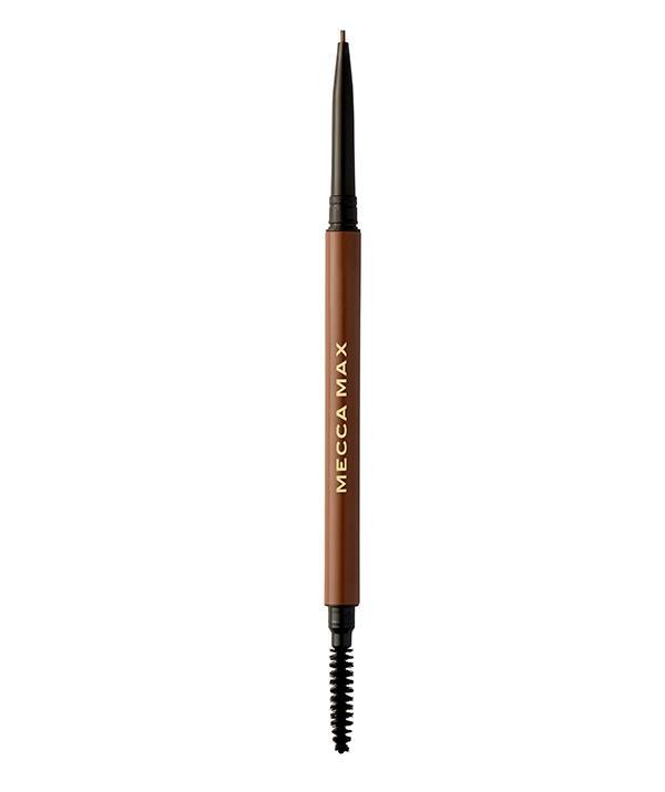"Mecca Max Brow Guru Micro Pencil in Medium, $18, [shop it here](https://www.mecca.com.au/mecca-max/brow-guru-micro-matic-pencil/V-031968.html#q=mecca%2Bbrow%2Bpencil&start=1|target=""_blank"")"