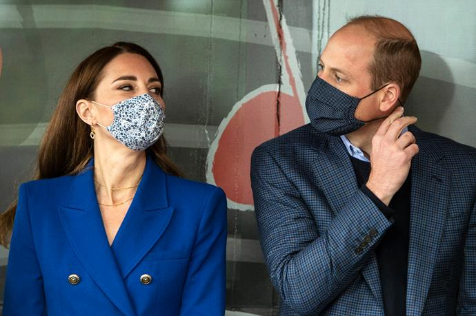 The Duke and Duchess are currently touring Scotland together.