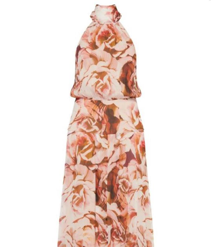 """This soft but sophisticated dress will add some whimsical vibes into your wardrobe. It is a little pricey but a perfect investment for weddings, $590, [buy it online here.](https://www.sassandbide.com/vivarium-dress