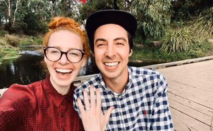 Emma recently got engaged to her partner Oliver Brian.