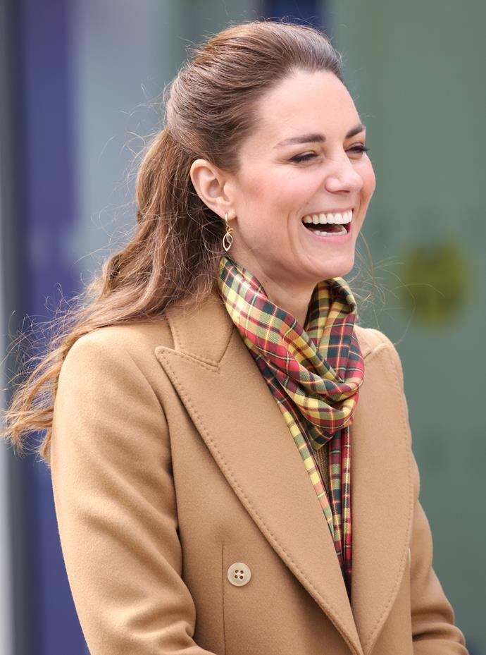 There's no mistaking that glow. Tartan really does suit the Duchess!