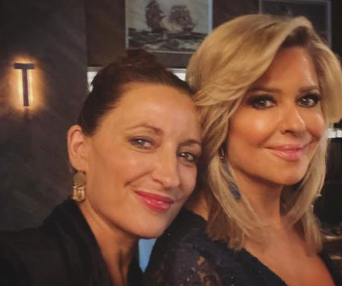 Georgie Parker and Emily Symons looked drop-dead gorgeous.
