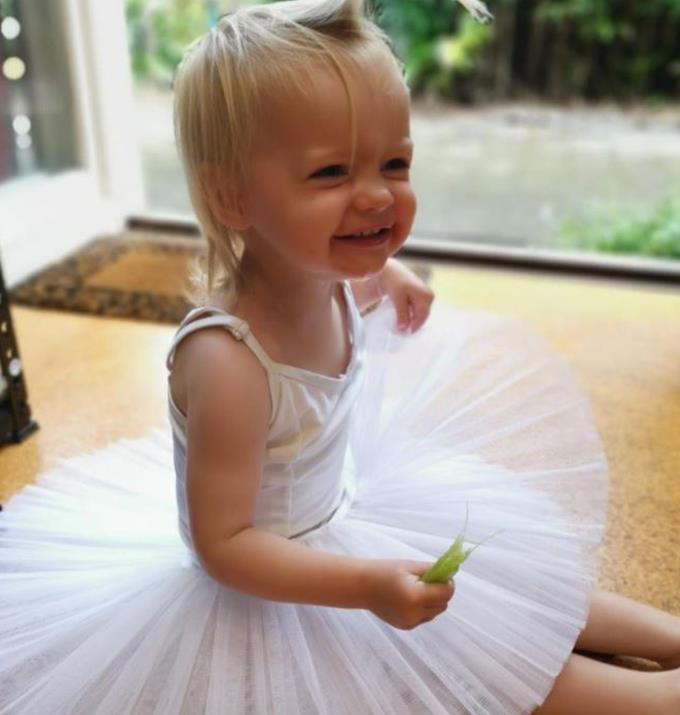 Will Neve grow up to be a performer like her mum?