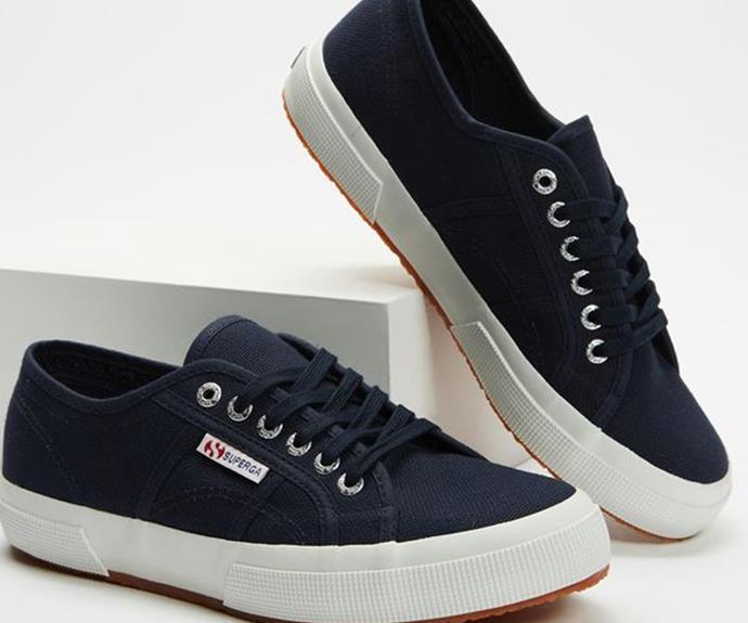 "The Iconic Superga 2750 Cotu Classic Unisex, $89.95. [Buy them online here](https://www.theiconic.com.au/2750-cotu-classic-unisex-812417.html?utm_source=google&utm_medium=au_sem_nonbrand&utm_content=Sneakers&utm_campaign=AU_NC_Women_PG_Generic&utm_term=PRODUCT_GROUP&gclsrc=aw.ds&gclid=Cj0KCQjwhr2FBhDbARIsACjwLo0eDsLi3KjmYfwkWNvZNO-gv-VZOrWfqPYcUi4kCB72L2efHQipf-oaAurNEALw_wcB|target=""_blank"")"