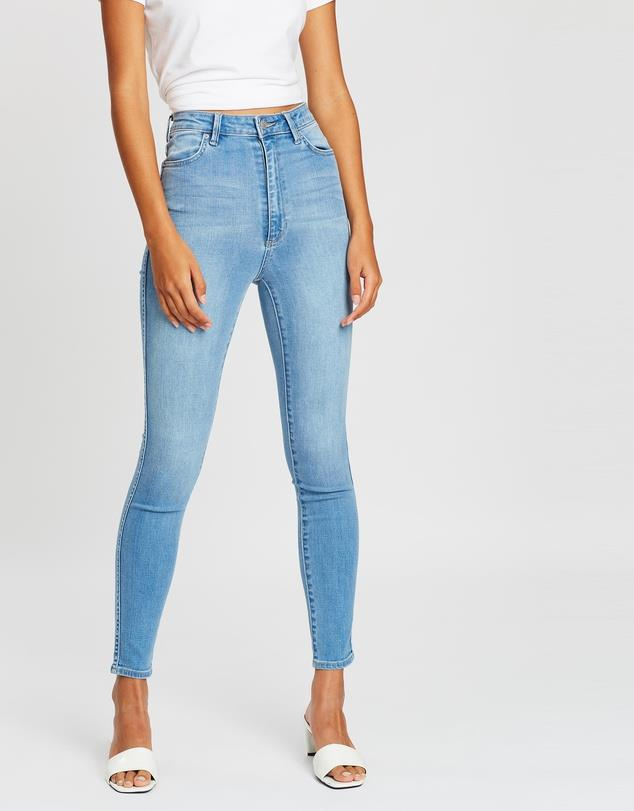 """Riders by Lee, Hi Rider Jeans, $99.95. **[Buy them online via The Iconic here](https://www.theiconic.com.au/hi-rider-jeans-661414.html