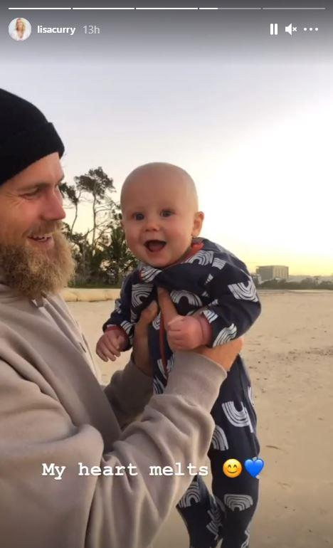 Jett with little Taj, who was born in November last year.
