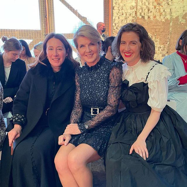 """Julie Bishop [knows how to rock a sparkle or two](https://www.nowtolove.com.au/fashion/fashion-news/julie-bishop-orange-dress-67207