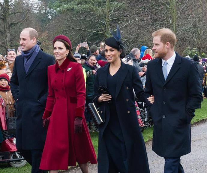 The Duke and Duchess shared a message of congratulations to Prince Harry and Meghan as they welcomed their new baby.
