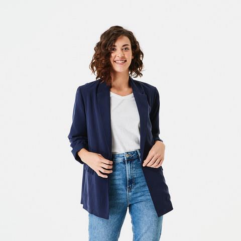 "Kmart Relaxed Blazer, $30. **[Buy it online here](https://www.kmart.com.au/product/relaxed-blazer-indigo-ink10/3527904|target=""_blank""|rel=""nofollow"")**"