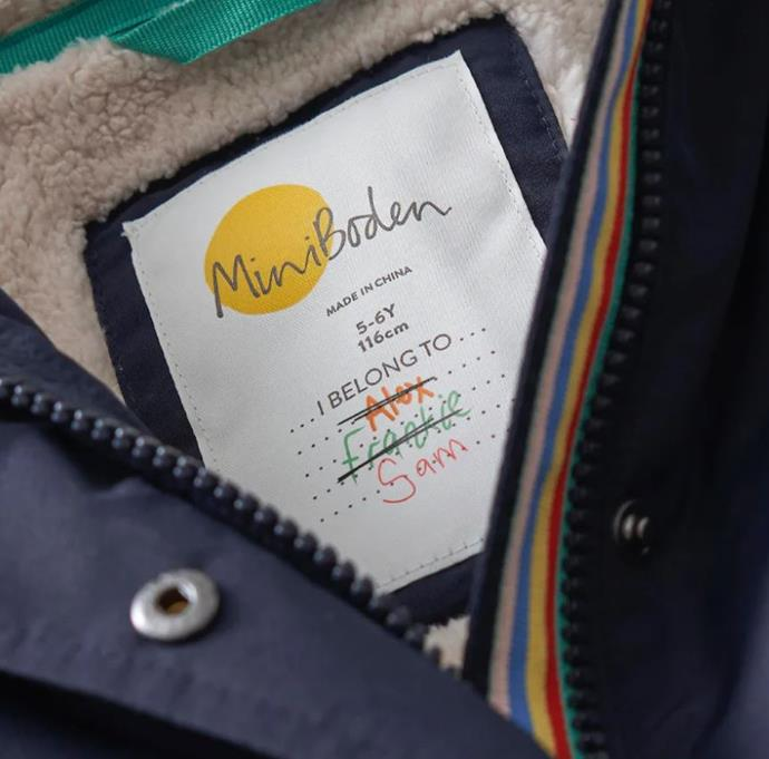 """**Boden** <br><br> UK brand Boden (which ships to Australia) has sustainability and durability front of mind for each and every one of their children's clothing items - designed to be handed-down, their products are largely derived from sustainable viscose, cotton and nylon fibres, with a goal for 100 per cent of their materials to be sustainable by 2025.  <br><br> **[Shop Boden online here](https://www.bodenclothing.com.au/en-au