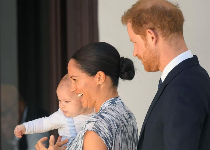 """Harry and Meghan's eldest son Archie is a """"master""""."""