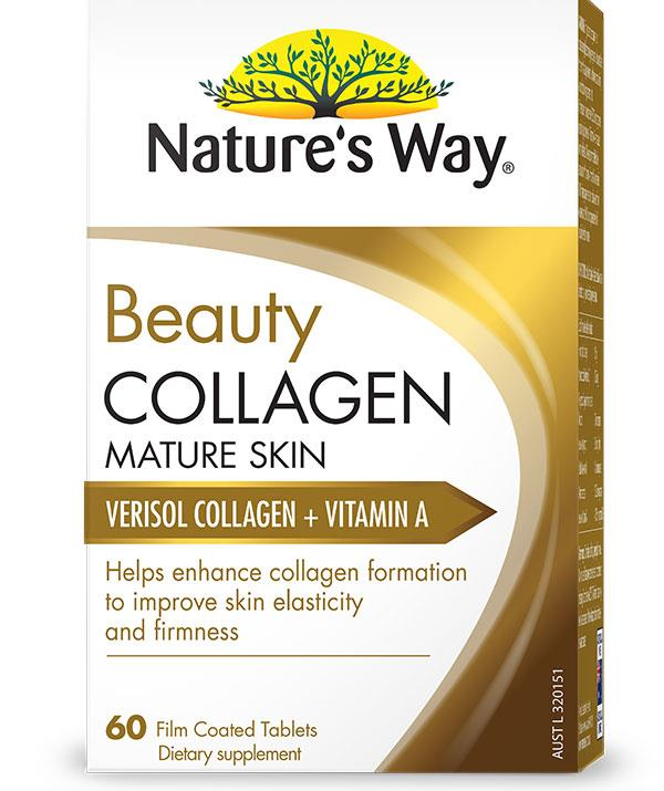 Nature's Way Beauty Collagen Mature Skin ($34.99) nourishes your skin from within.