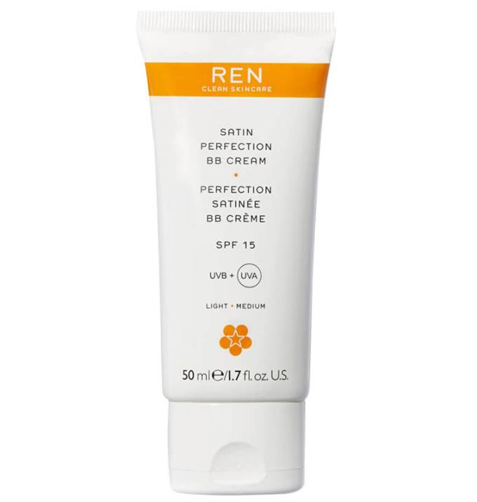 """$57.00 from [Mecca.](https://www.mecca.com.au/ren-clean-skincare/satin-perfection-bb-cream/I-016383.html