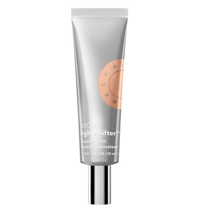 """$46.00 from [Sephora.](https://www.sephora.com.au/products/becca-cosmetics-light-shifter-dewing-tint-tinted-moisturizer/v/luminary-1-fair-with-neutral-peach-undertones